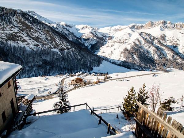 Le Chatelet : la vue en hiver