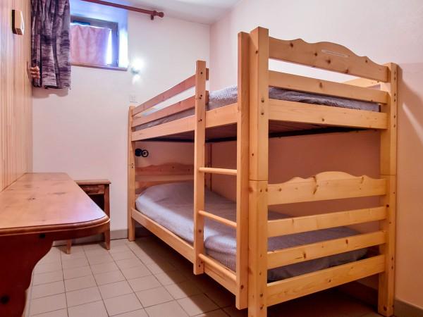 Deuxième chambre avec lits superposés de 90