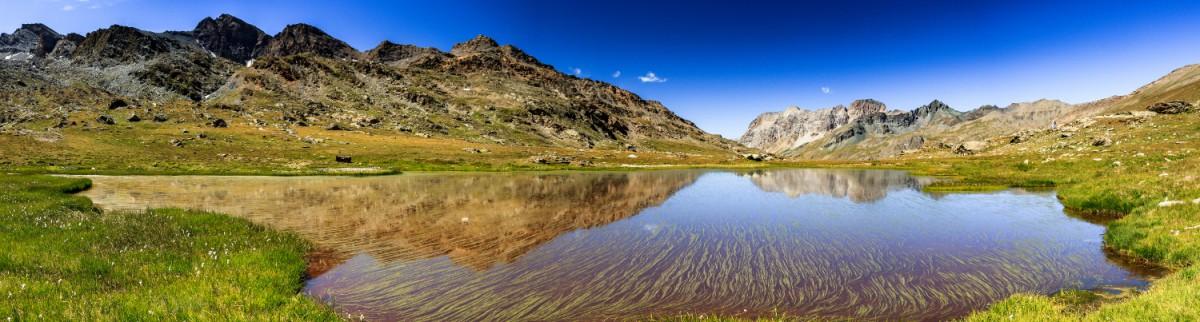 Un des magnifiques lac du Queyras