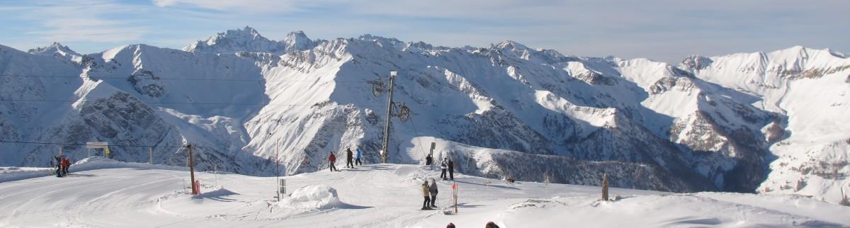 L'hiver à Saint-Véran c'est aussi de magnifiques panoramas
